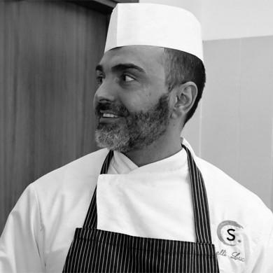 Luca Tinelli <br> primo chef mensa aziendale SCM