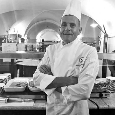 Davide Biondini <br> primo chef ristorante C'Entro Cesena